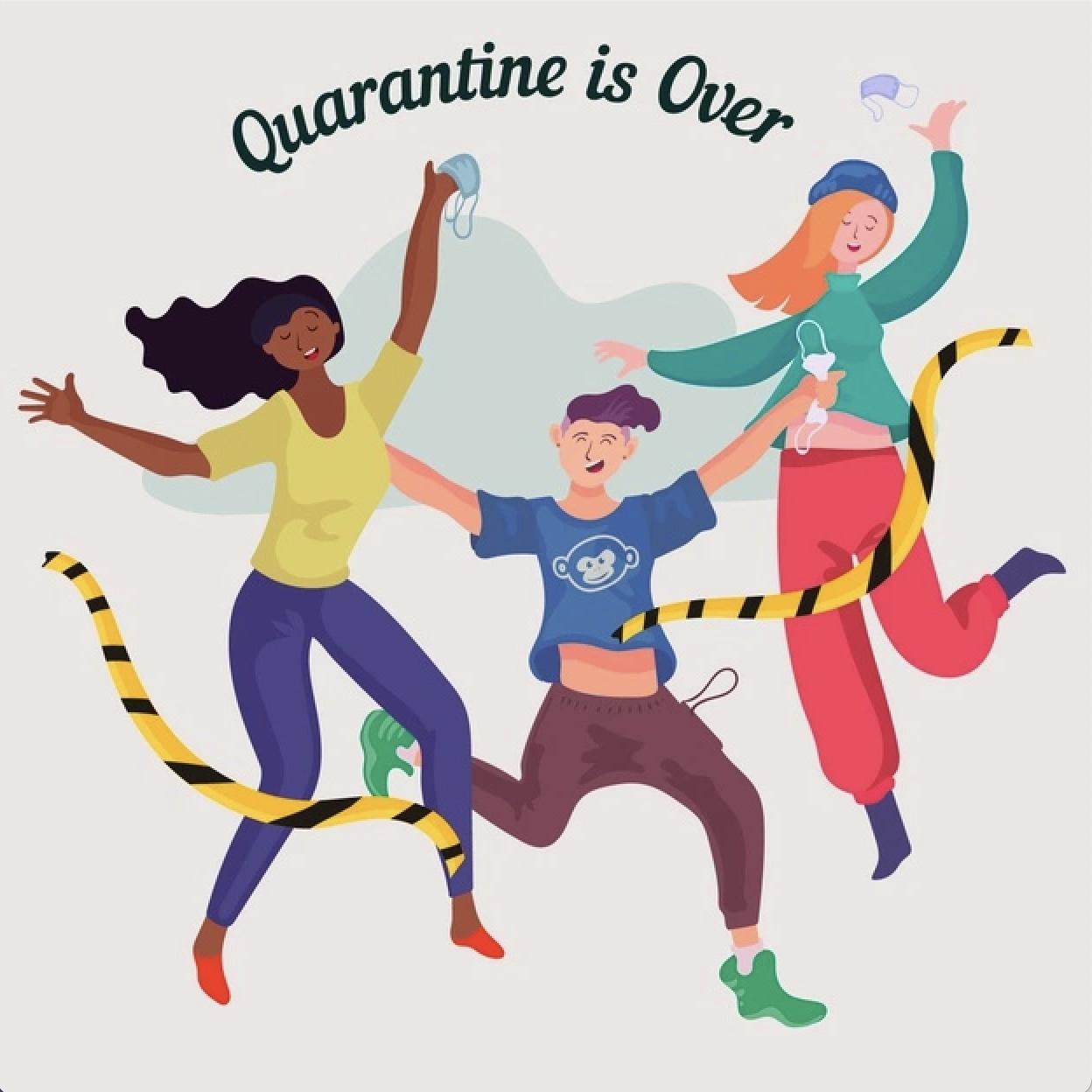 einde quarantaine